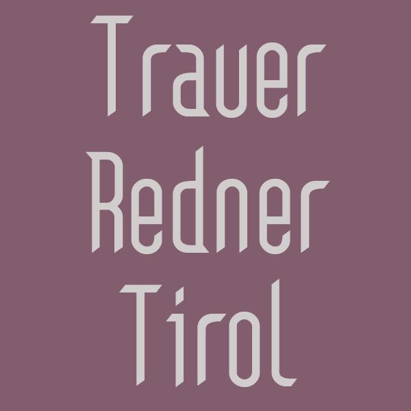 Trauer Redner Tirol